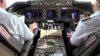 Cockpit - Boeing 747-400 Takeoff From Hong Kong 6209632 YouTube-Mix