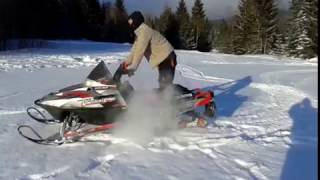 2. Polaris Snowmobile RMK 600