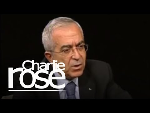 Charlie Rose - Palestinian Prime Minister Salam Fayyad