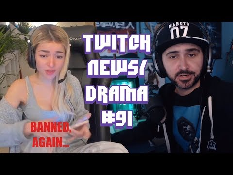 Twitch Drama/News #91 (HelenaLive Permanently Banned, Pilav, Drdisrespect Vs Summit1g)