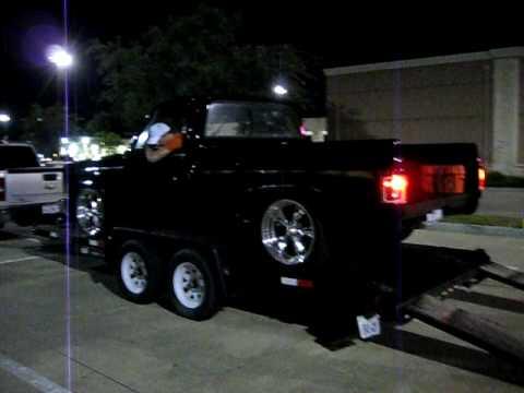 My 86 chevy truck idling