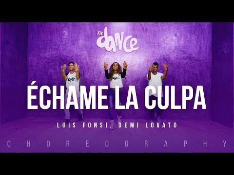Échame La Culpa - Luis Fonsi, Demi Lovato   FitDance Life (Coreografía) Dance Video