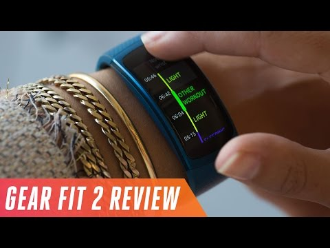 Samsung Gear Fit 2 activity tracker review