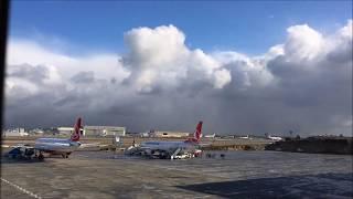 30 Aralık 2015 Istanbul Kar Yağışı - Time Lapse