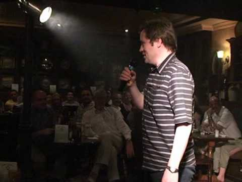 Ardal O'Hanlon (Dougle) live at fibbers, Dubai UAE - part 1