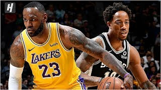 Los Angeles Lakers vs San Antonio Spurs - Full Game Highlights   November 25, 2019 NBA Season