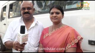Narendra Kumar and Gayathri at Prabha Shooting Spot