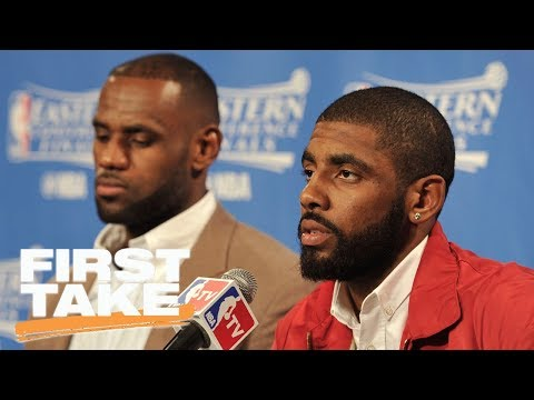 Deion Sanders gets heated at Kyrie Irving for wanting to leave LeBron James | First Take | ESPN