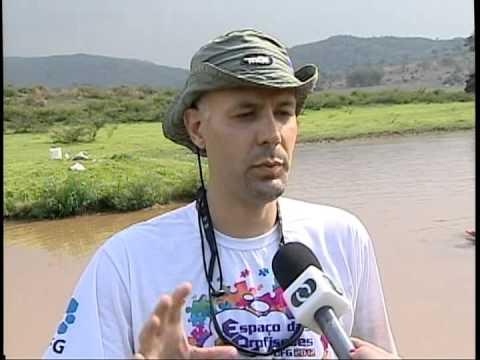 Prof. Emerson Mossolin (UFG) - Entrevista sobre Pesquisa de camarões em Anhanguera (Goiás)