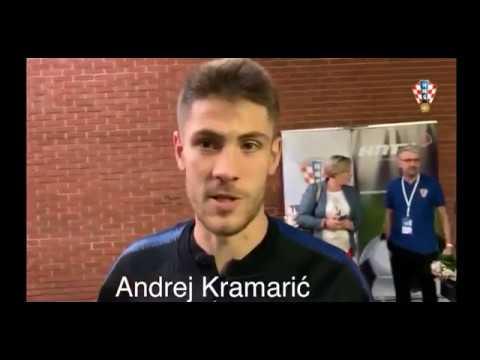 Andrej Kramarić poslije susreta u Bjelovaru