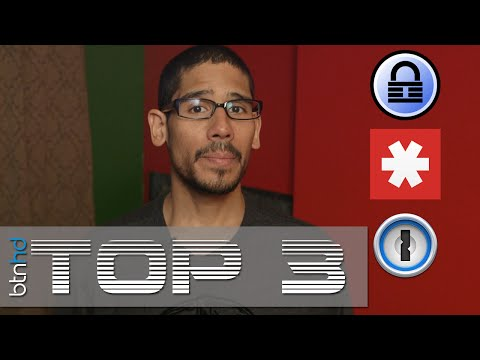 Top 3 Best Password Managers!