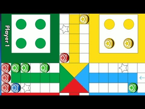 Ludo game in 2 players | Ludo King 2 players | Ludo gameplay #222