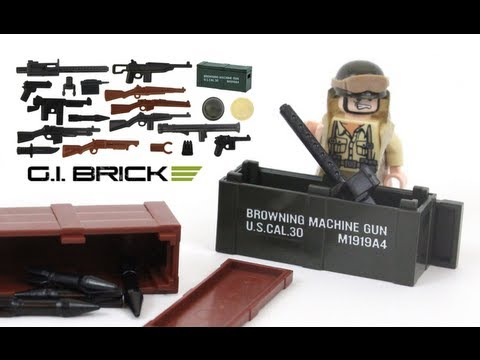 BrickArms (LEGO) Review - Allied Forces World War Pack (GIBrick.com)