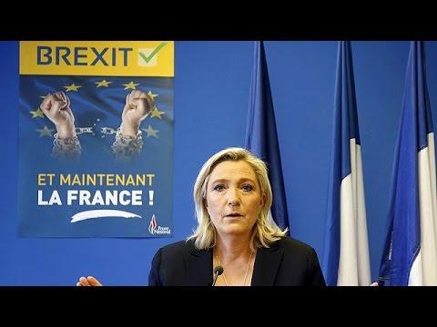 Οι ηγέτες της ευρωπαϊκής ακροδεξιάς «γιορτάζουν» για το Brexit