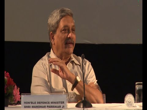 DIIA Inaugural Conference: Q&A session with Manohar Parrikar Part 1