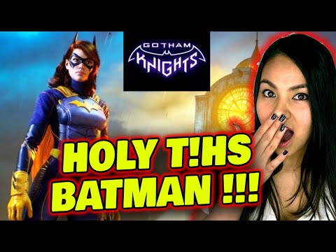 [1ST TIME REACTION] Gotham Knights Official World Premiere Trailer