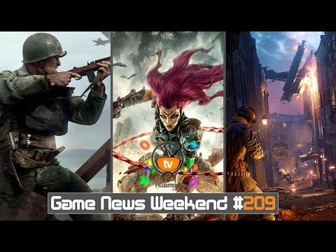 Игровые Новости — Game News Weekend #209   (Darksiders 3, Call of Duty: WWII, Code Vein)