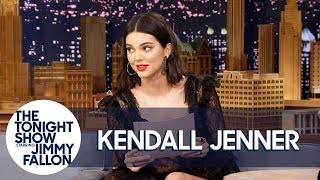 Video Kendall Jenner Reads a Letter She Wrote as a Teen Predicting Her Modeling Fame MP3, 3GP, MP4, WEBM, AVI, FLV April 2018
