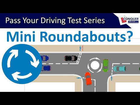 Mini Roundabouts Driving Lesson UK - Pass your Driving Test Series