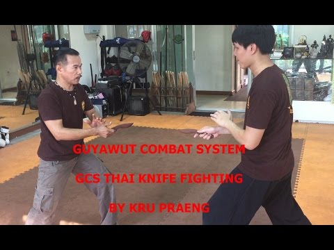 GCS Thai Knife Fighting Techniques