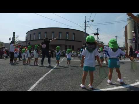 小羊幼稚園遊戯(千厩夏祭り2016.7.30)