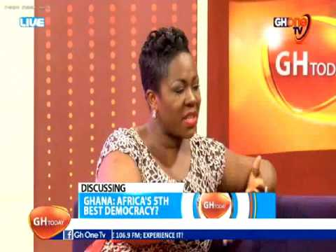 GHANA: AFRICA'S 5TH BEST DEMOCRACY? #ghtoday