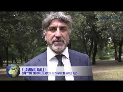 Flaminio Galli (Indire): progetto Erasmus abbatte le barriere. Giovani sempre più cittadini europei
