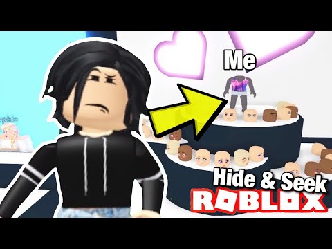 Hide & Seek with FANS in Adopt me (Roblox) I Disguised as a Mannequin | Funny Moments