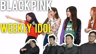 Apologies, this video is blocked in South Korea and Japan.Weekly Idol with eng sub here (ep 310) - https://www.youtube.com/watch?v=1ZKp7il7UrI (this is their second appearance.)0:25 - Start/Intro1:11 - Blackpink come out / Catch up talk8:29 - Random Play Dance18:29 (til end) - Doni Coni call centre = (20:20 - Jisoo making up nonsense songs22:40 - IU and ROSÉ collab pls25:47 - Girls do some freestyle dancing29:40 - Acrostic poems33:34 - Karaoke)---------------------------------------------FOLLOW US FOR UPDATES! ♥ Our Facebook - https://www.facebook.com/KM0MENTS♥ Our Instagram - https://instagram.com/KMomentsYT/♥ Our Twitter - https://twitter.com/KMomentsYT---------------------------------------------Secondary accounts for videos that are unavailable! =Our Dailymotion - http://www.dailymotion.com/KMomentsOur Vimeo - https://vimeo.com/user50015300---------------------------------------------Intro/Outro tracks - KM Josh & F3XLogo - KM GabeChannel art - Vinh Nguyen