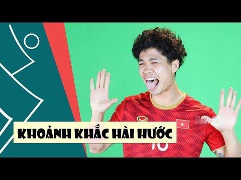 Công Phượng, Quang Hải làm trò khiến ai cũng cười té ghế trong buổi ra mắt áo ĐTVN - Thời lượng: 3:20.