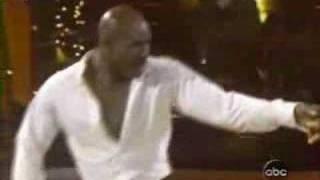 Evander Holyfield Dancing