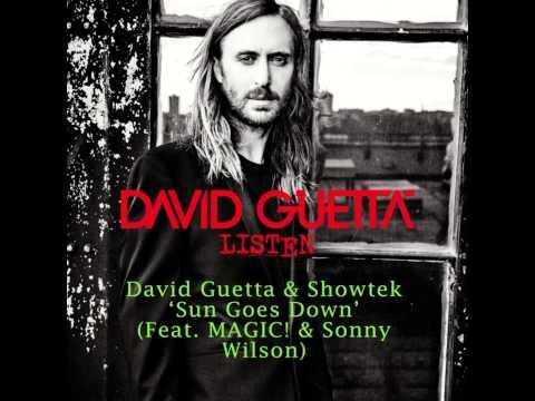 David Guetta & Showtek - Sun Goes Down (Feat MAGIC & Sonny Wilson)
