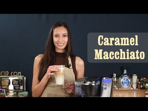 How to make Delicious Caramel Macchiato | Keurig Coffee Recipes