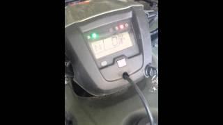 7. 2012 Honda Foreman check engine light blink part 1