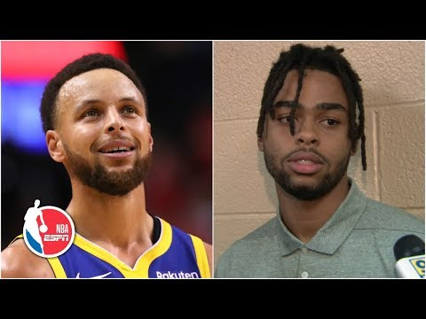 Video: D'Angelo Russell says he and Steph Curry will be a 'dangerous combo'   2019 NBA Free Agency