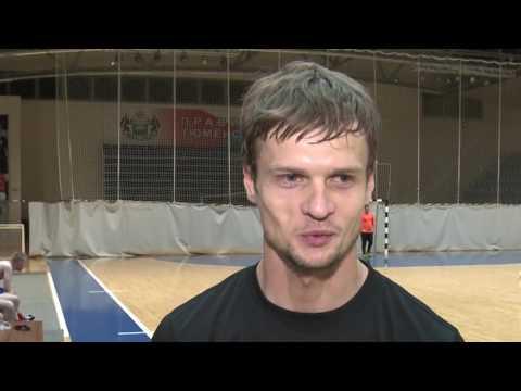 Андрей Павленко о тренировке с журналистами