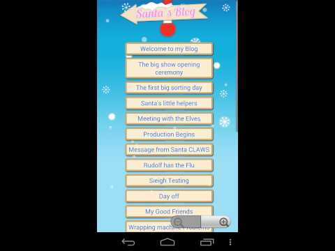 Video of Santa Tracker Free