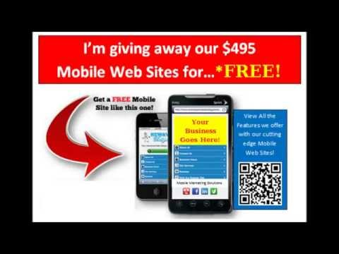 Free Restaurant tips.  Free Mobile web site. How to design a Resurant Mobile web site.