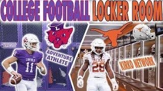 D1 College Football Locker Room VS D3 College Football Locker Room