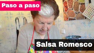 Cómo hacer Salsa Romesco
