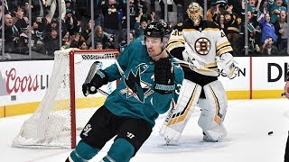 Logan Couture converts on penalty shot by NHL