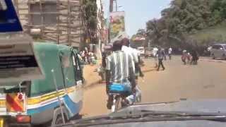 Kisumu Kenya  city photos gallery : Driving In Kisumu, Kenya