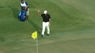 Francesco Molinari closes with a chip-in birdie at THE PLAYERS by PGA TOUR
