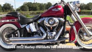 8. Used 2012 Harley Davidson FLSTN Softail Deluxe for sale 2018
