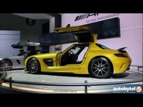 Mercedes-Benz SLS AMG Black Series, SLS AMG GT, and GL63 AMG At The LA Auto Show