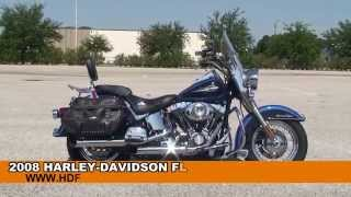 10. Used 2008 Harley Davidson Heritage Softail Classic Motorcycles for sale *
