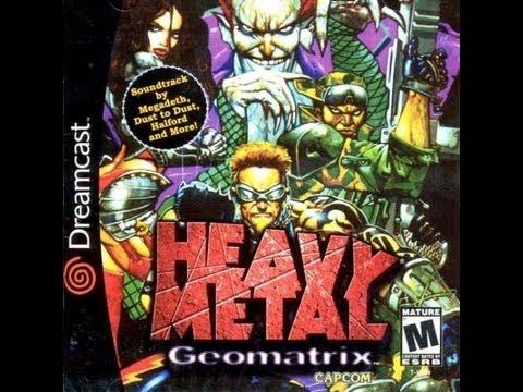 heavy metal geomatrix dreamcast review