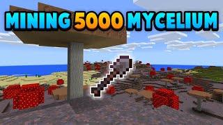 Literally Just Mining Mycelium