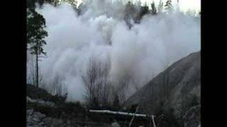 25 Tons Of Powergel Blasting Out 25000m3 Of Rocks