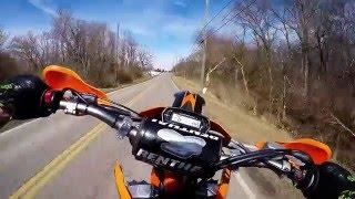 5. KTM 450 SXF Wheelie Practice